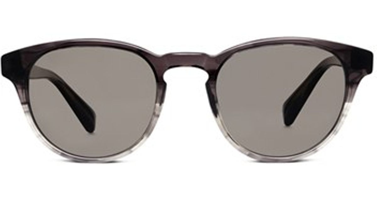 009ee77372a20 Warby Parker  Percey  48Mm Polarized Sunglasses - Charcoal Fade in Gray -  Lyst