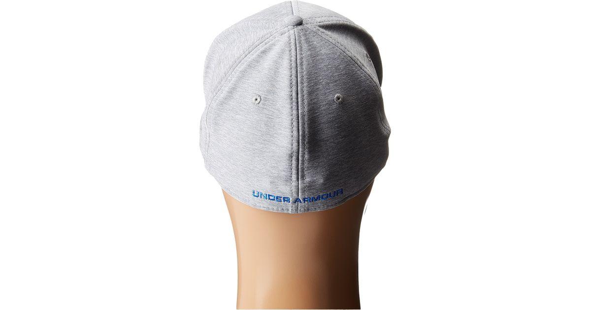 c26957e781f Lyst - Under Armour Ua Twisttech Closer Cap in Gray for Men