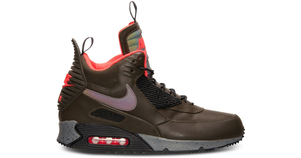 7e482448b8 Lyst - Nike Men's Air Max 90 Sneakerboots From Finish Line in Brown for Men