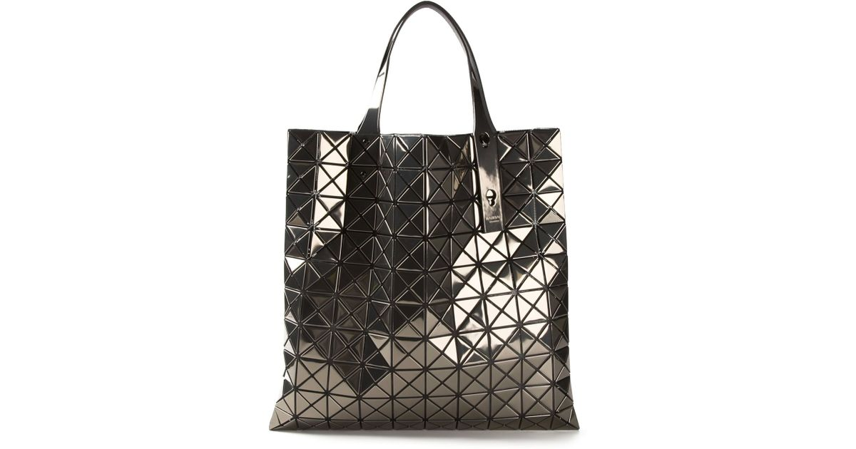 Lyst - Bao Bao Issey Miyake Prism Metallic Shoulder Bag in Metallic b15d716852698