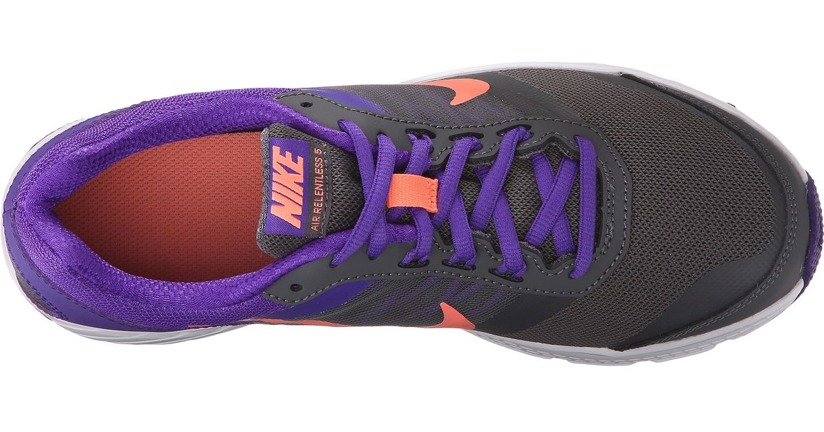 618b3ae6a99fb Lyst - Nike Air Relentless 5 in Purple for Men