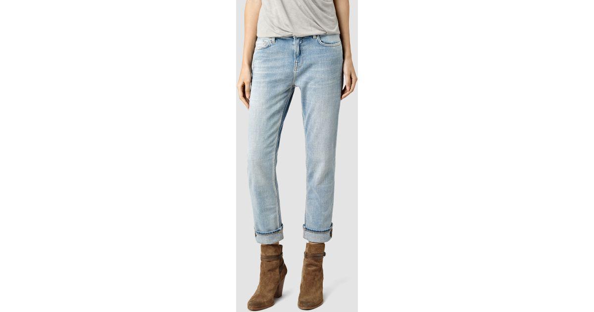 145b87e944 Lyst - AllSaints Slim Boys Jeans   Vintage in Blue