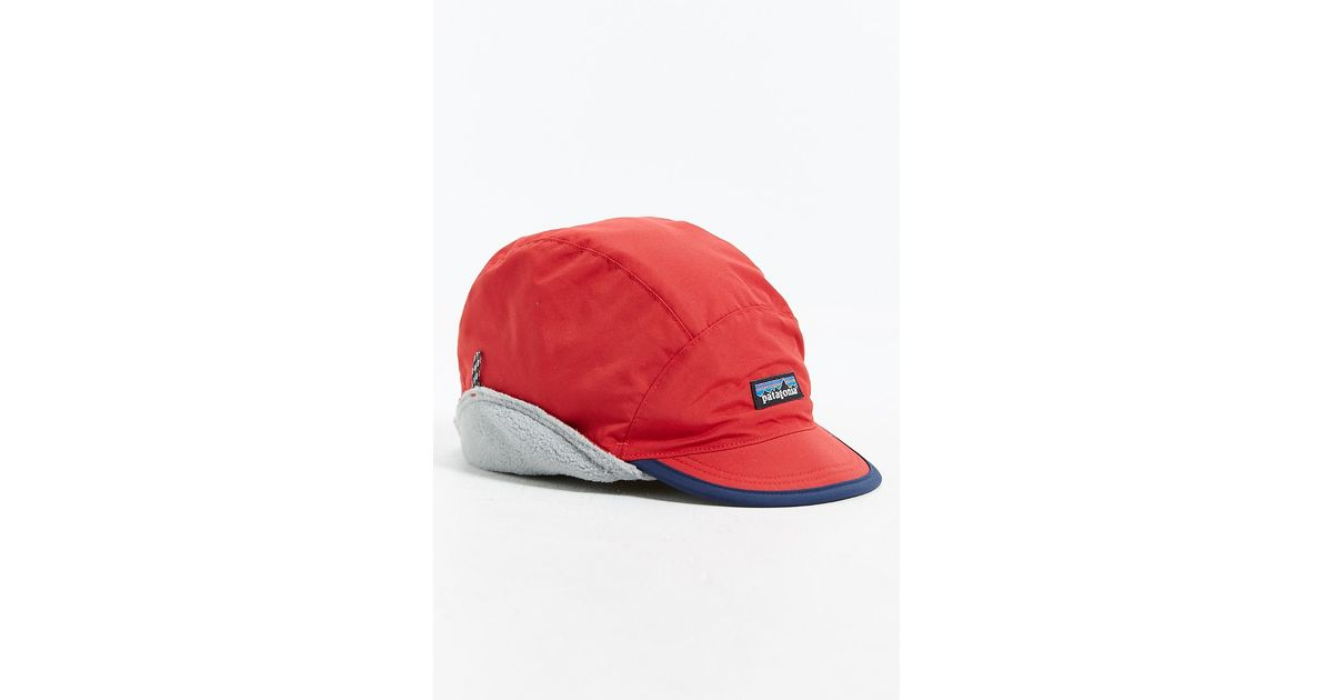 3b6c9b5553ef6 Patagonia Shelled Synchilla Duckbill Hat in Red for Men - Lyst