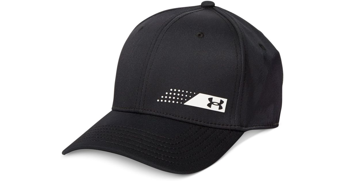 Lyst - Under Armour Fairway Heatgear Golf Cap in Black for Men 05a49e2de1f