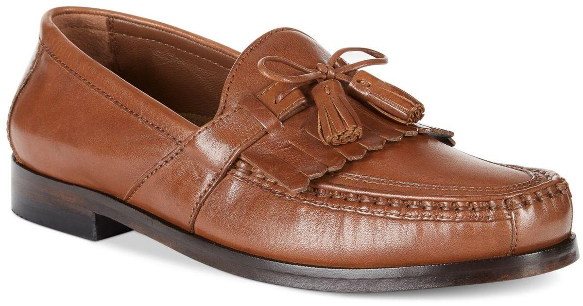 8459287f347e8 Lyst - Johnston   Murphy Aragon Ii Kiltie Tassel Loafers- Extended Widths  Available in Brown for Men