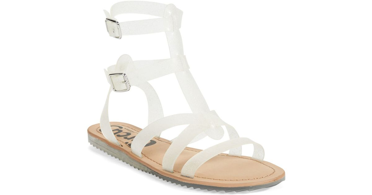 a8fd47a9766e Lyst - Circus By Sam Edelman Selma Jelly Gladiator Sandals in Brown