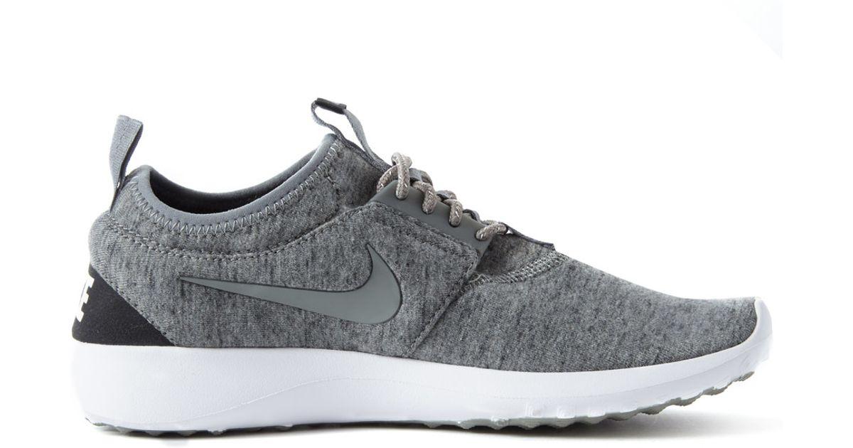 Lyst - Nike Grey Juvenate Fleece Trainer in Gray c615101e10