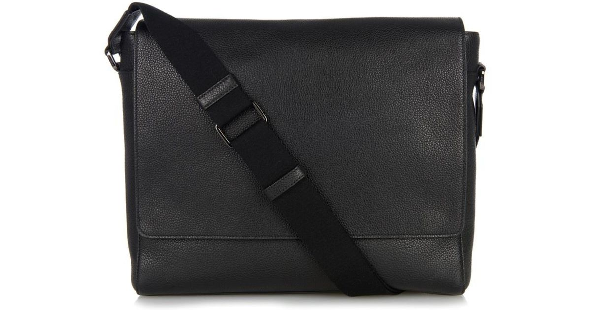 2f049446c3adb Lyst - Mulberry Maxwell Leather Messenger Bag in Black for Men