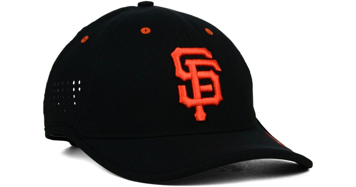 3111eeee7d82a Lyst - Nike San Francisco Giants Vapor Swoosh Adjustable Cap in Black for  Men