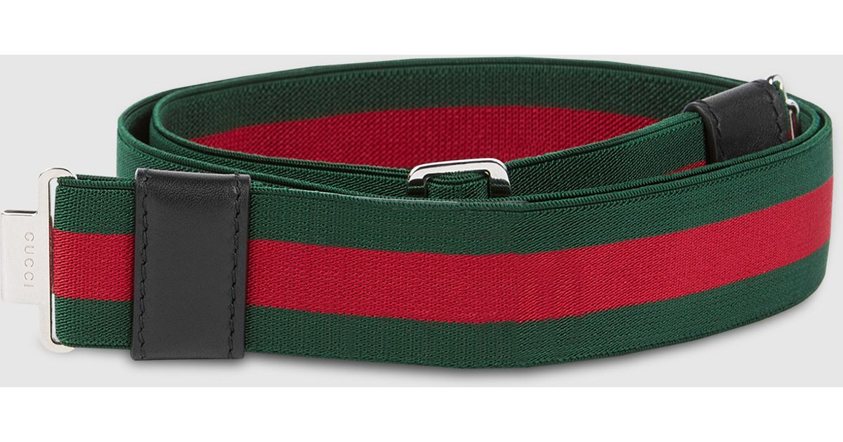 Gucci Belt Green And Red