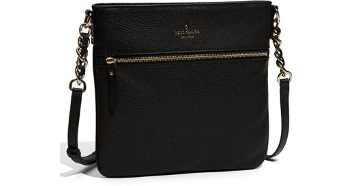 Lyst Kate Spade New York Cobble Hill Ellen Leather Crossbody Bag In Blue
