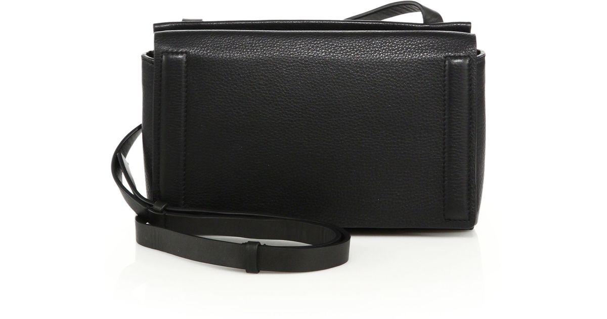 7a14b310f87 Lyst - Rag   Bone Aston Mini Leather Crossbody Bag in Black