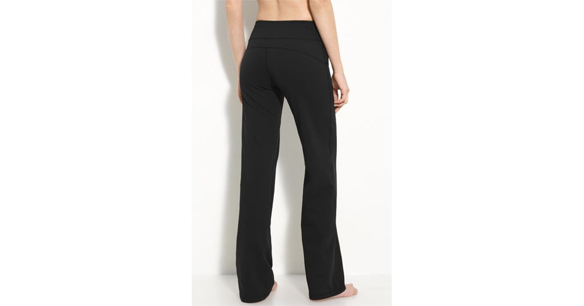36d2ded932600 Zella 'balance' Wide Leg Pants in Black - Lyst