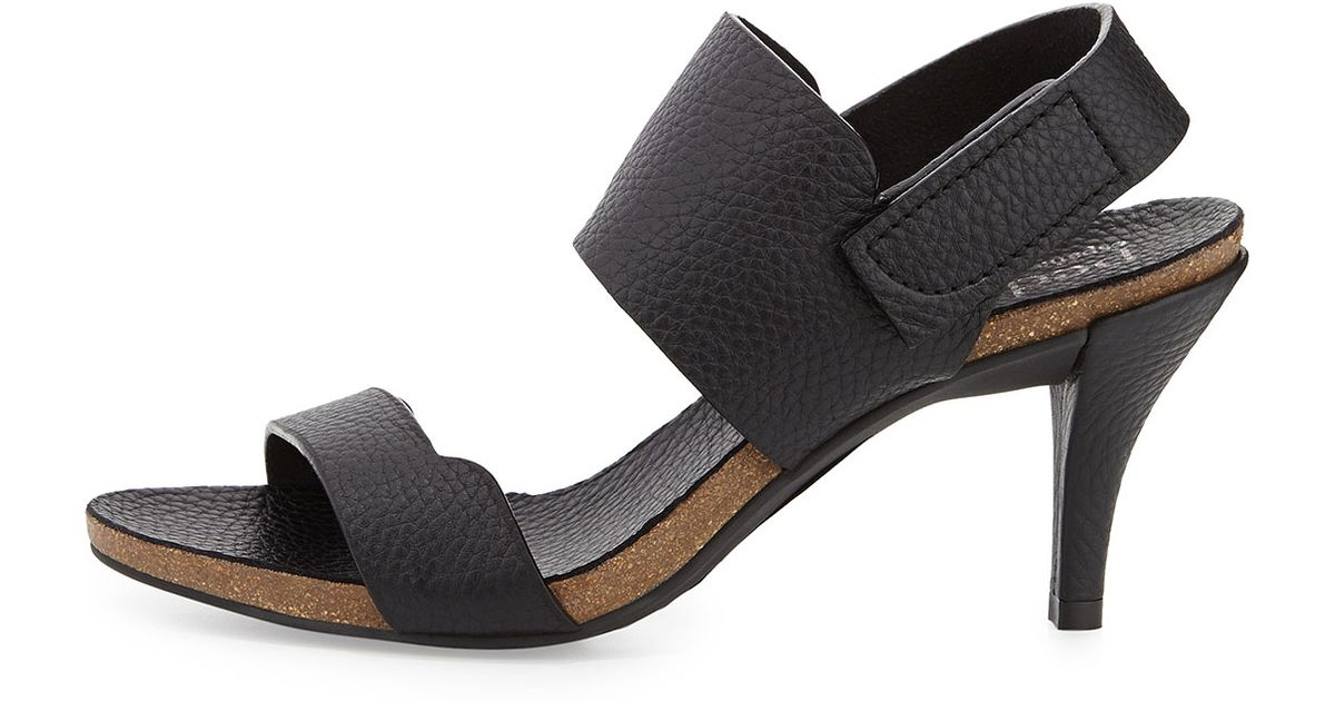 4953248f1e6 Lyst - Pedro Garcia Whisper Leather Sandals in Black