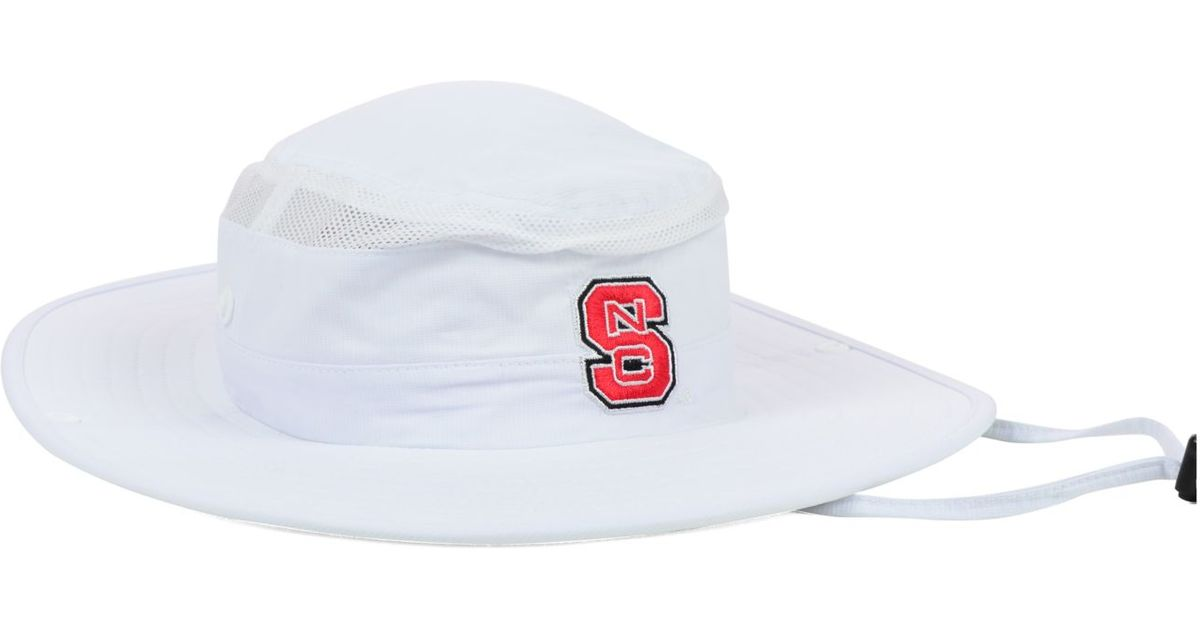 61f2a4e464011 ... coupon for lyst adidas north carolina state wolfpack campus safari hat  in white for men 4fdd9