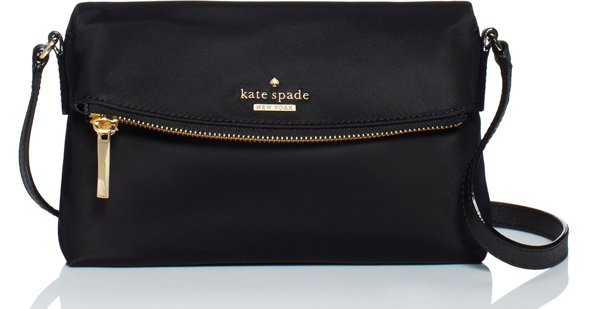 Kate Spade Classic Nylon Mini Carson in Black - Lyst 42272a8ef8