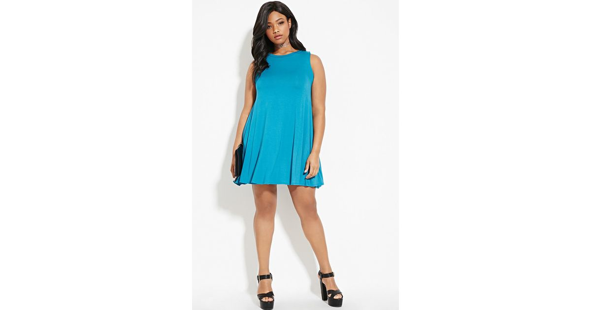 Lyst Forever 21 Plus Size Trapeze Dress Youve Been Added To The