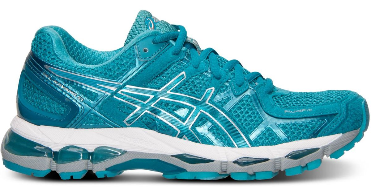 outlet store 9d127 b5bd5 ... where to buy lyst asics womens gel kayano 21 running sneakers from  finish line in green