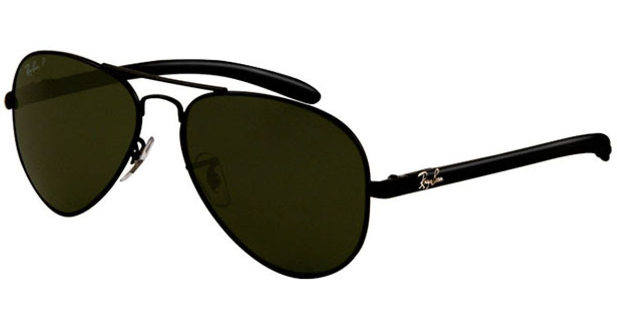 8ca5a8523895f Lyst - Ray-Ban Aviator Carbon Fibre in Black for Men