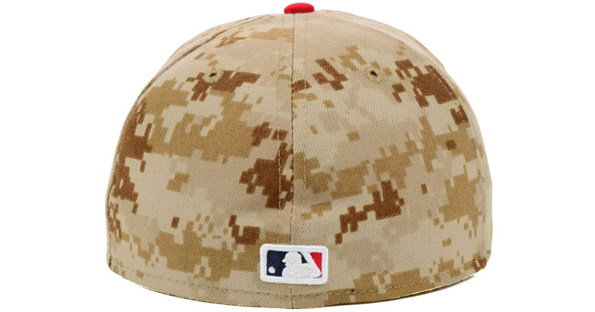 Lyst - KTZ Los Angeles Angels Of Anaheim 2014 Stars And Stripes 59Fifty Cap  in Natural for Men 57d1bd9a82db