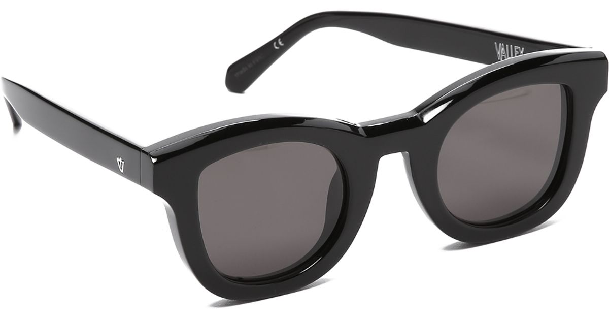 ada65f42d0 Lyst - Valley Eyewear Wolfgang Sunglasses in Black