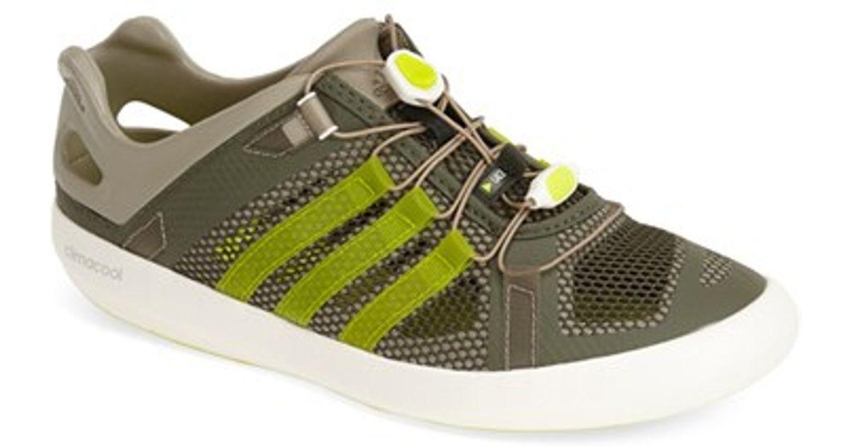 Climacool de Adidas Boat para Boat Breeze Breeze Zapato de agua en verde para hombres Lyst b62f4e6 - colja.host