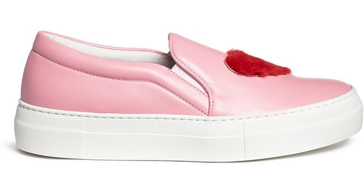 discount manchester great sale Joshua Sanders x Byte Giuliana Teso Luv U Slip-On Sneakers pre order sale online free shipping fake 9fTKqRP