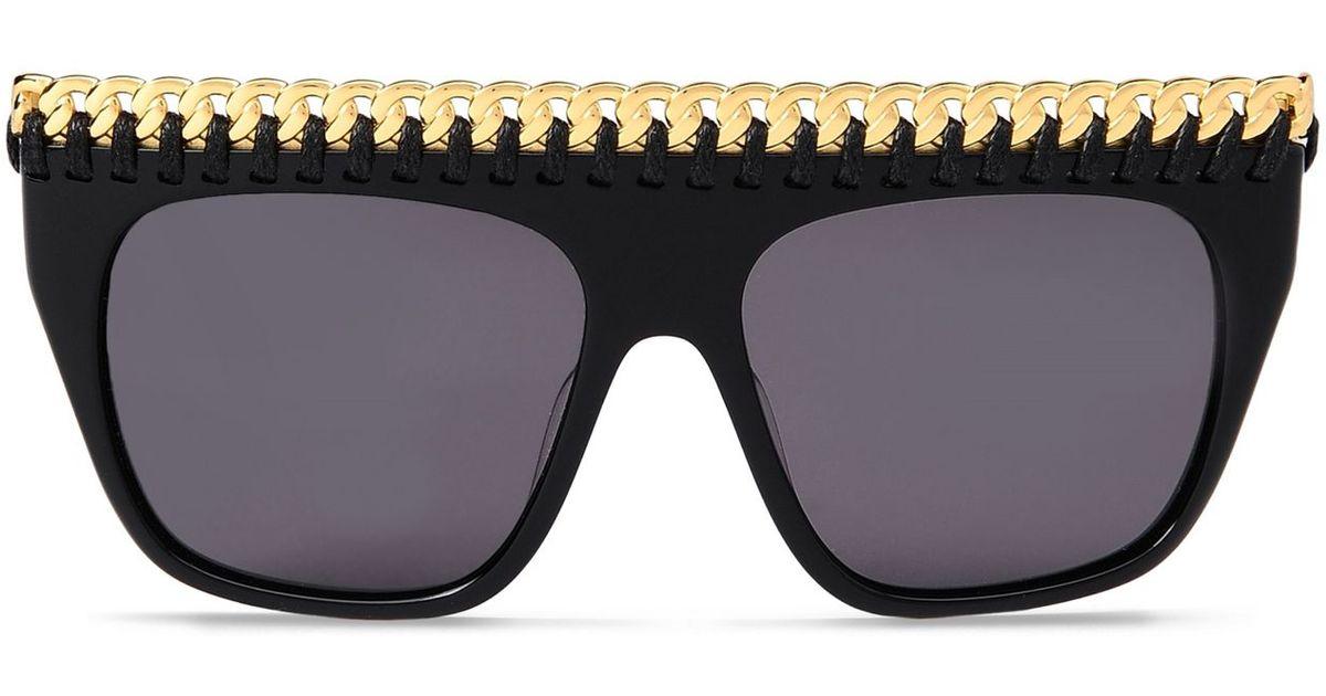 Falabella oversized sunglasses - Black Stella McCartney cGZO8rDZKG