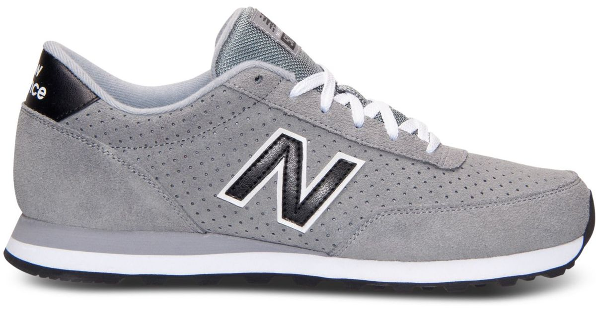 promo code 133d5 8369c Lyst - New Balance Men s 501 Casual Sneakers From Finish Line in Gray for  Men