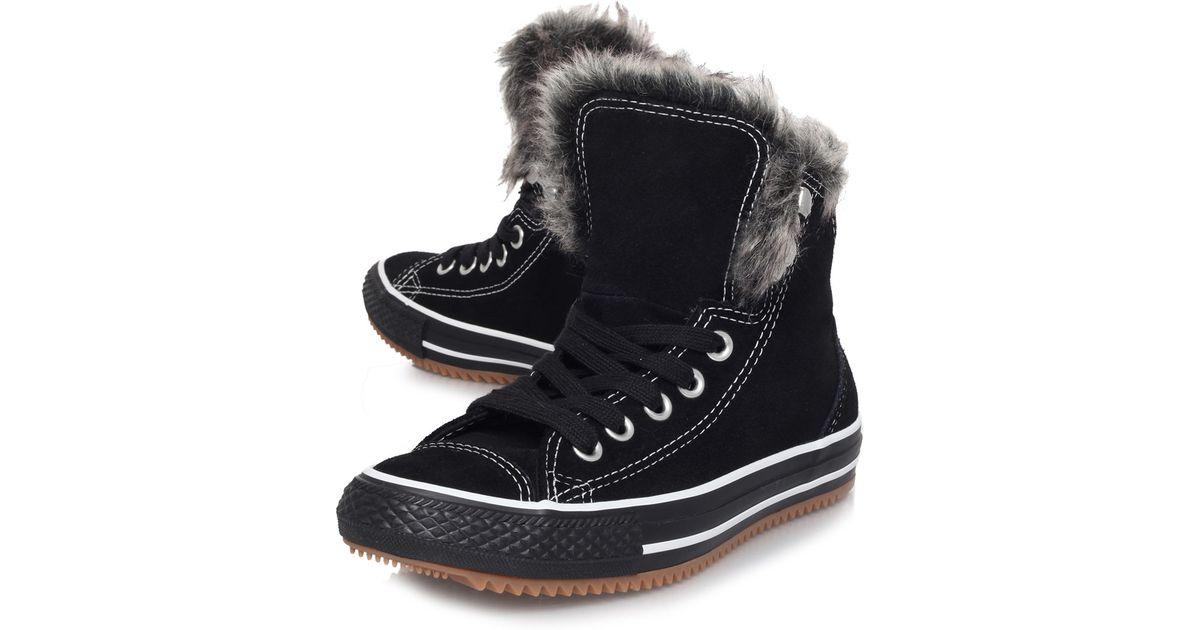 Get - converse fur boots - OFF 77