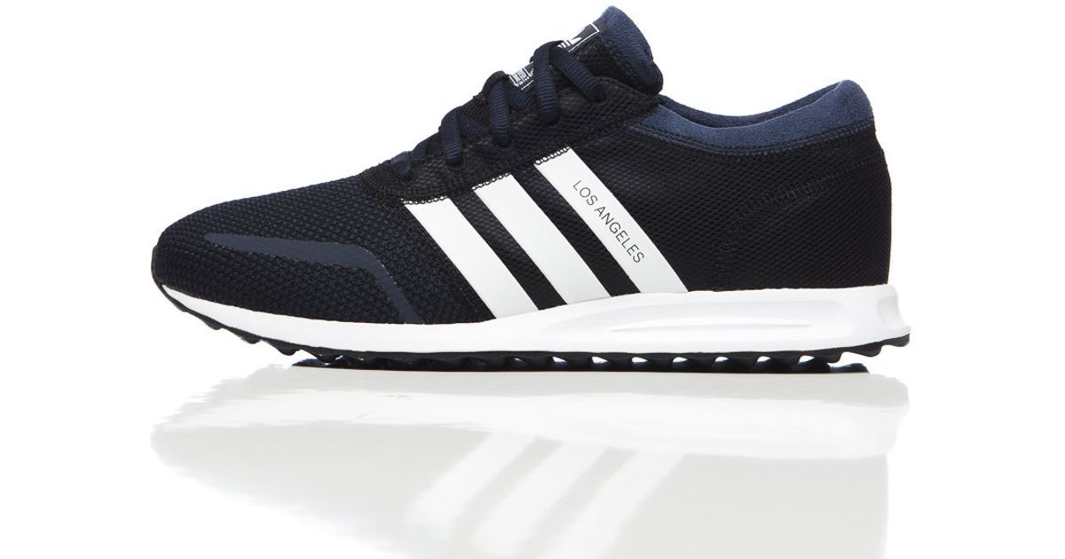 3d6e7c5d1098ee Lyst - adidas Originals Los Angeles In Core Black white navy in Blue for Men