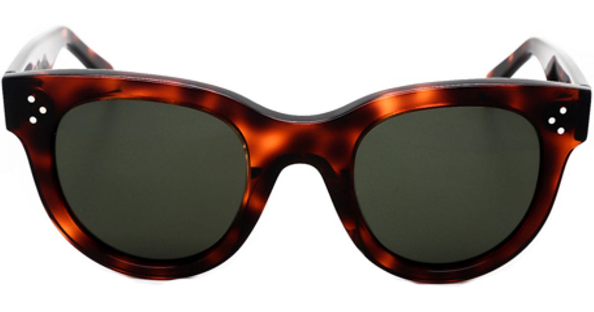 Groovy Lyst - Céline Baby Audrey Sunglasses in Gray LZ-57
