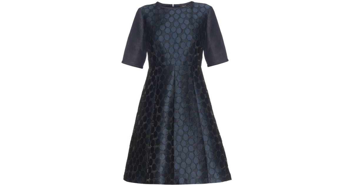 1545933cf2 Weekend by Maxmara Orazio Dress in Blue - Lyst