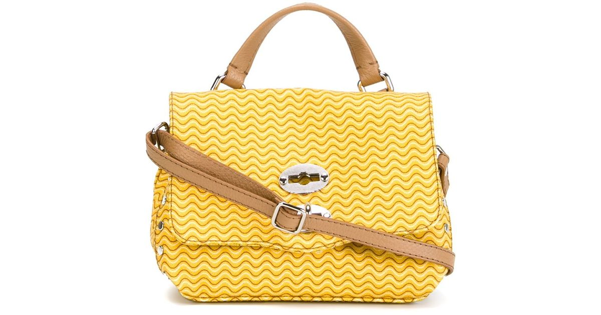 Zanellato Baby \u0026#39;postina\u0026#39; Satchel in Yellow (YELLOW \u0026amp; ORANGE) | Lyst