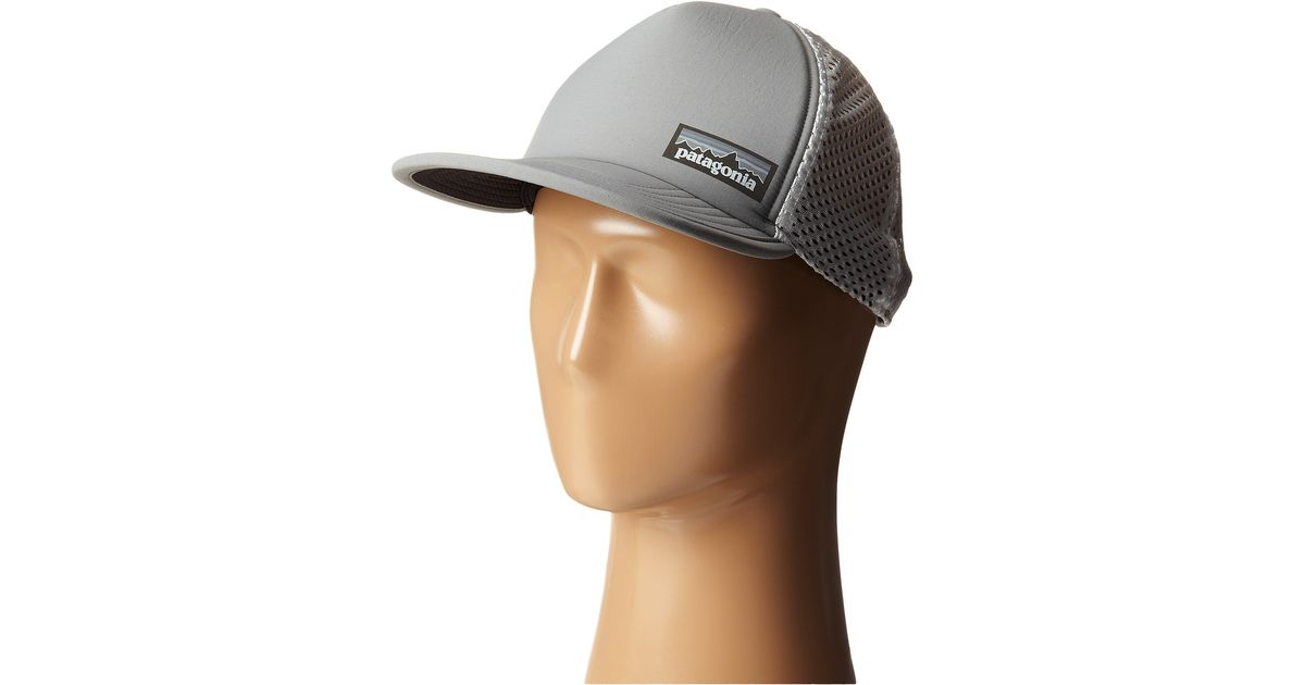 651f0fc2 Patagonia Duckbill Trucker Hat in Gray - Lyst