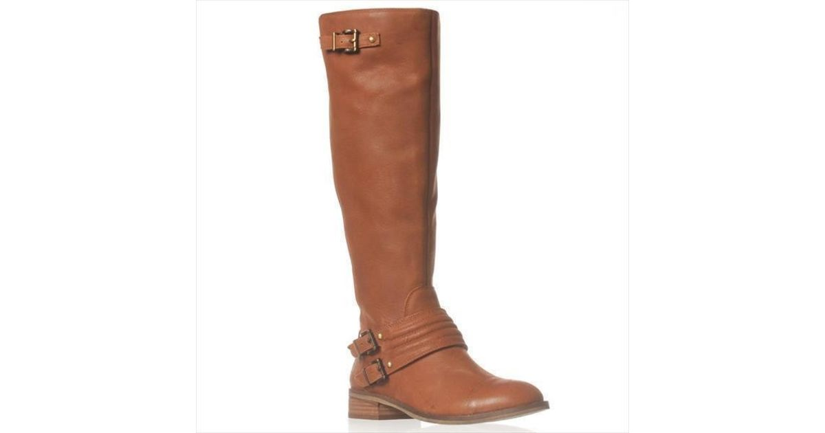 fd9d365333da Lyst - Jessica Simpson Elmont2 Wide Calf Riding Boot in Brown