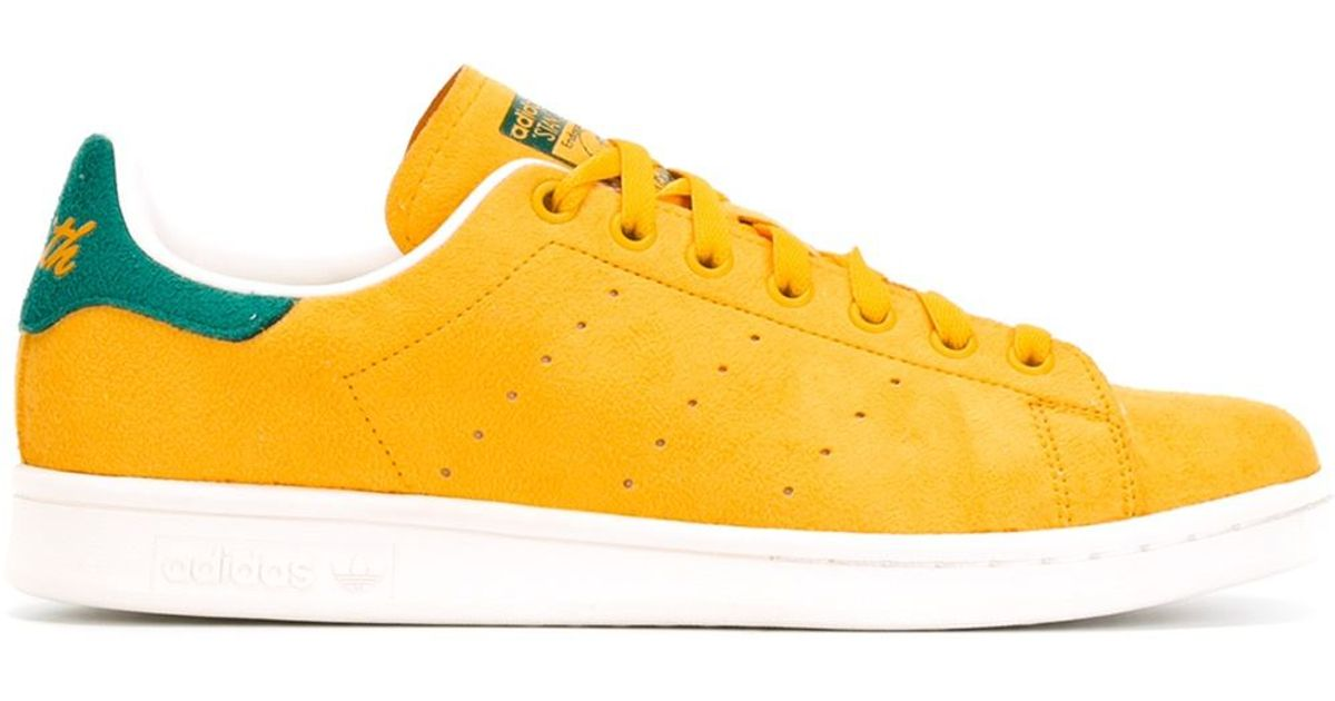 Lyst - adidas Originals  stan Smith  Sneakers in Yellow for Men bcc5993925