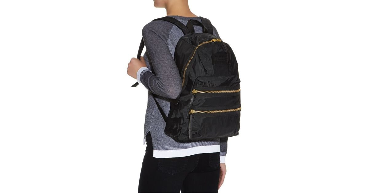 f4fb8a6768aa ... Marc By Marc Jacobs Domo Arigato Packrat Backpack in Black for Men