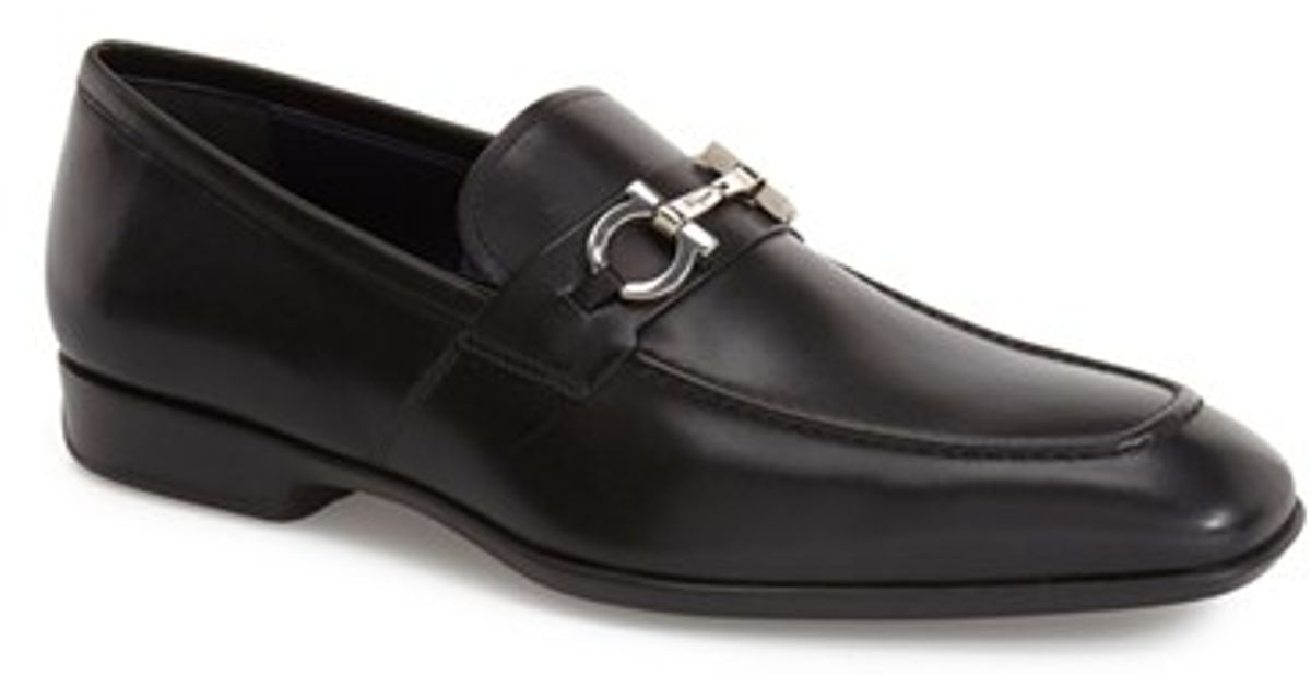 bf0b97ab5fd Lyst - Ferragamo  metrone  Bit Loafer in Black for Men