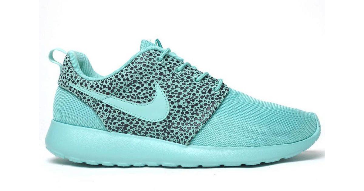 49e0d02c2034 Lyst - Nike Roshe Run Safari Crystal Mint in Green for Men