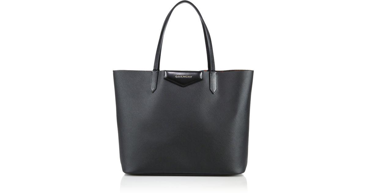 ebc2b7d776 Givenchy - Black Antigona Small Coated Canvas Shopping Tote - Lyst