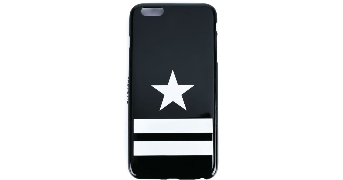 official photos f26bd 605ef Givenchy - Black Star Iphone 6 Plus Case - Lyst