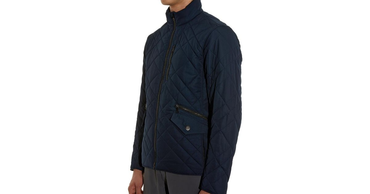 For Highline Blue In Jacket Aether Quilted Lyst Men O7qw4qgvx