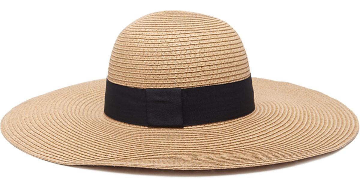7e3066d5422 Lyst - Forever 21 Floppy Straw Sun Hat in Natural