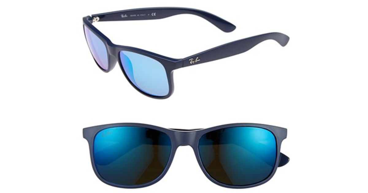 399844c55b Ray-Ban  tech Carbon Fiber  58mm Aviator Sunglasses in Blue - Lyst