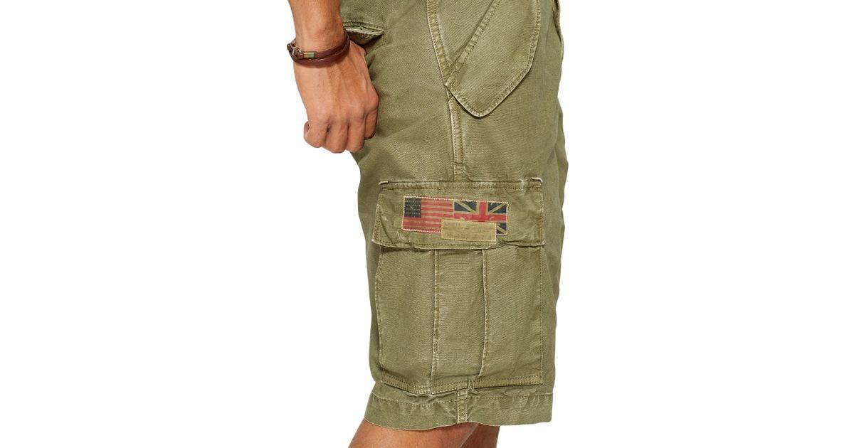 5af6239783 Denim & Supply Ralph Lauren Field Cargo Short in Green for Men - Lyst