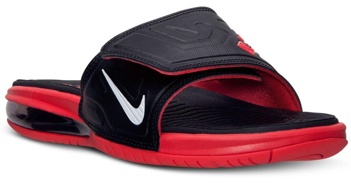 Lyst - Nike Mens Air Lebron 3 Elite Slide Sandals From Finish Line in Black  for Men c3ed0e771