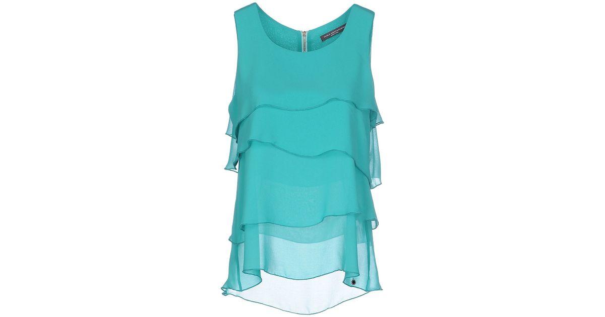 finest selection 61376 2bca0 Carla Montanarini - Green Top - Lyst