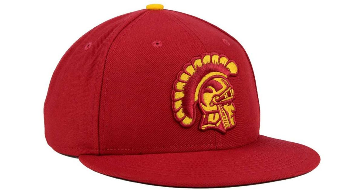 74a61a14fff9f ... new arrivals lyst nike usc trojans true hardwood seasonal cap in red  for men 9ed45 06469