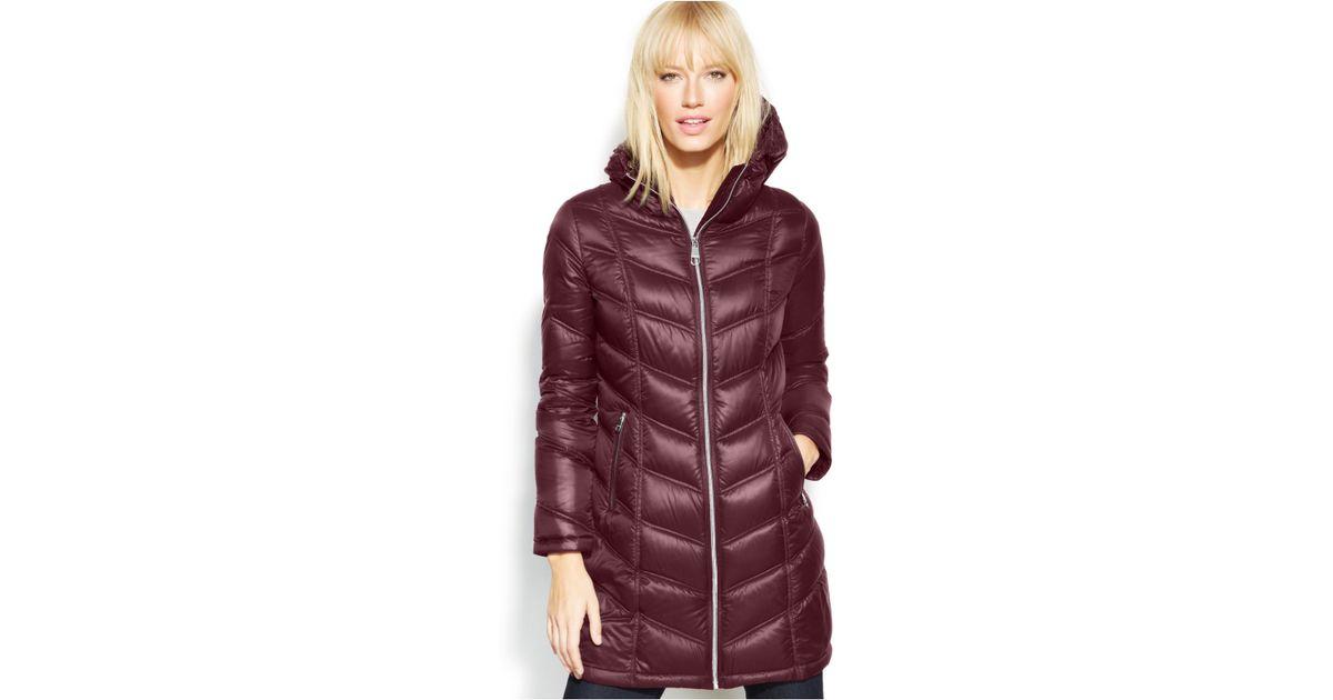 9ecacae621f3 Calvin Klein Hooded Long Quilted Down Puffer Coat - Best Quilt ...